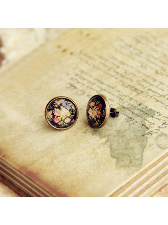 latest ONE PIECE Cute Flower Pattern Decorated Earring - AS THE PICTURE
