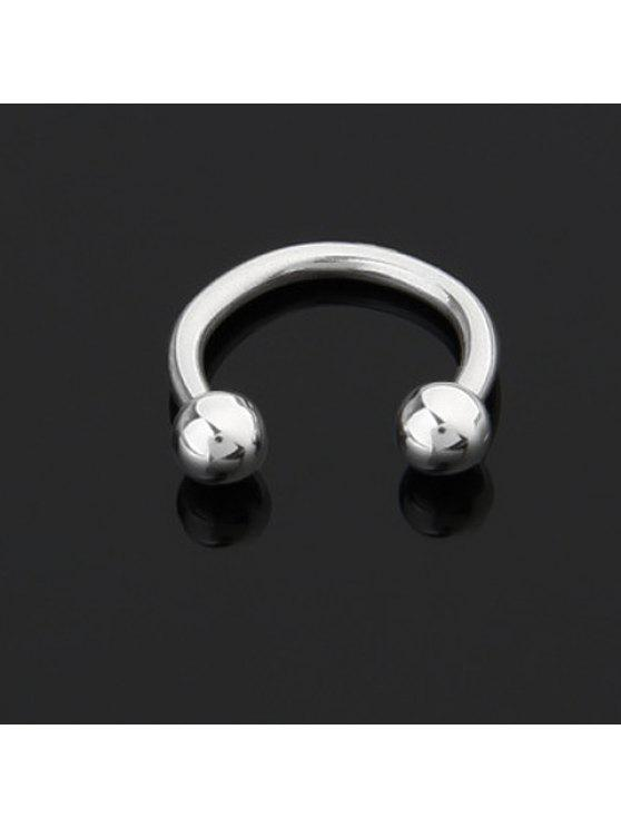 affordable Fashion Simply Designed U-Shaped Labret For Women     (ONE PIECE) - WHITE
