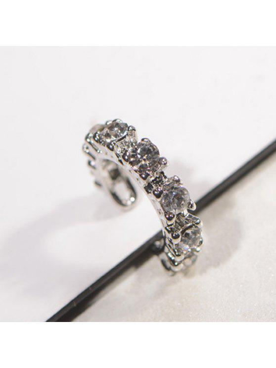 women One Piece of Chic Rhinestone Cuff Earring For Women - AS THE PICTURE