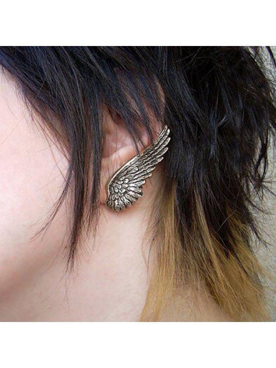 buy ONE PIECE Chic Women's Wing Earring - RANDOM COLOR PATTERN