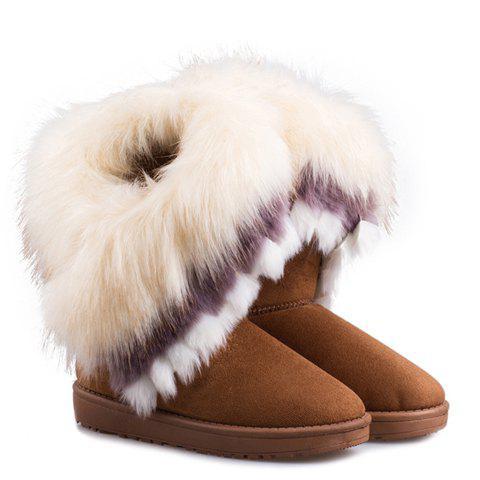 Faux Fur Snow Boots 108469513