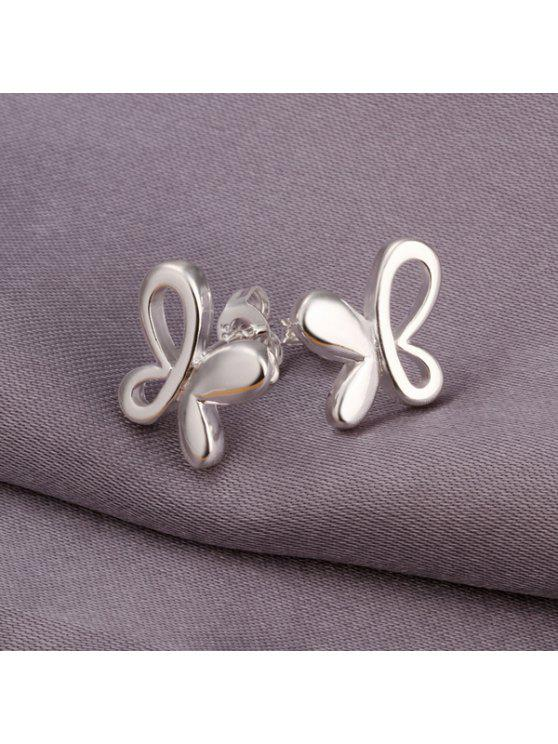 sale Pair Of Women's Casual Butterfly Earrings