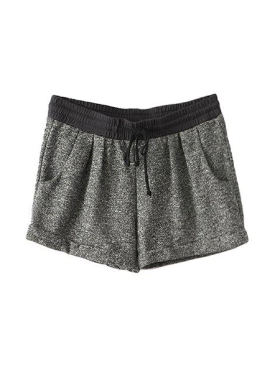 trendy Tie-Up Shorts For Women - AS THE PICTURE S