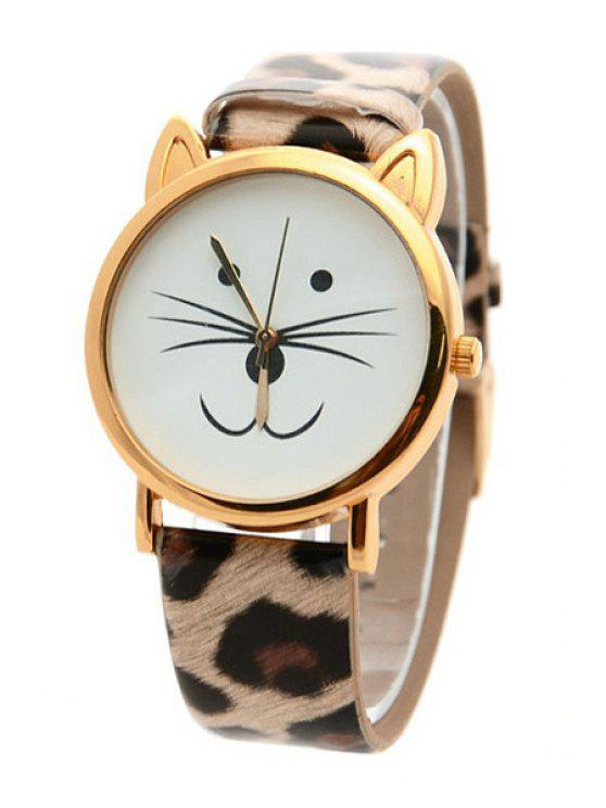hot Kitten Shape Watch - LEOPARD