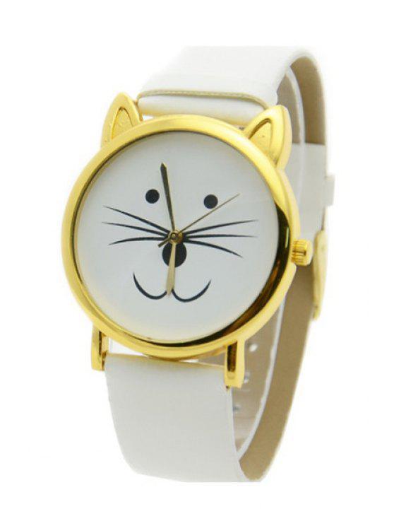 outfit Kitten Shape Watch - WHITE