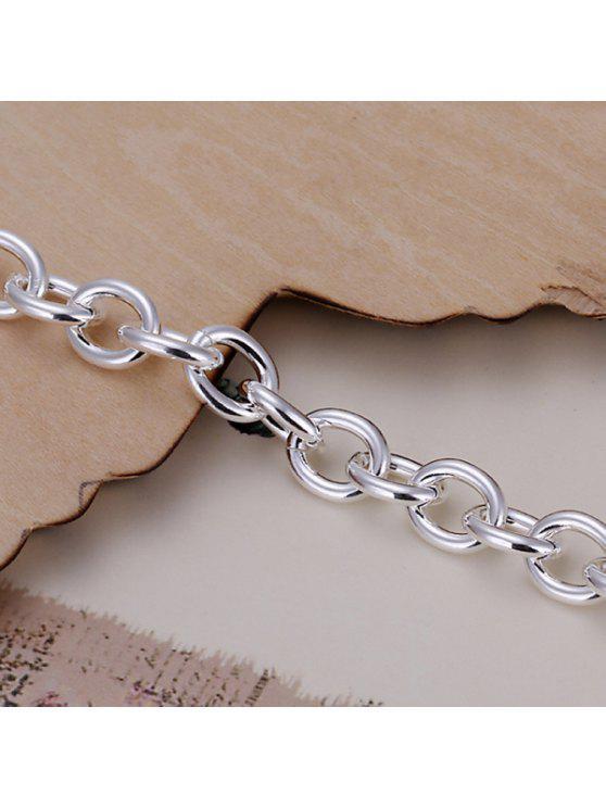 new Stylish Thick Chain Shape Bracelet For Men - 20CM