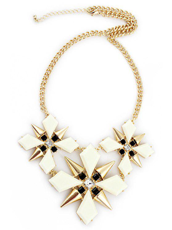 hot Rivet Special Shape Necklace - AS THE PICTURE