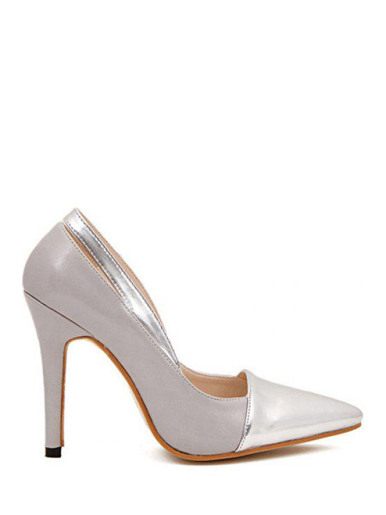 best Sexy High Heel Hollow Out Pumps - GRAY 35