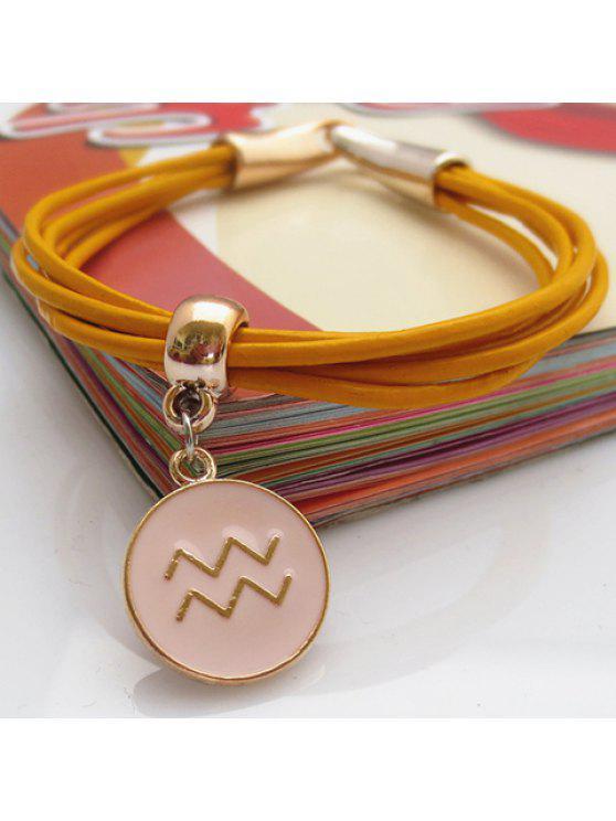 unique Chic Women's Ellipse Pendant Design Bracelet - COLOR ASSORTED