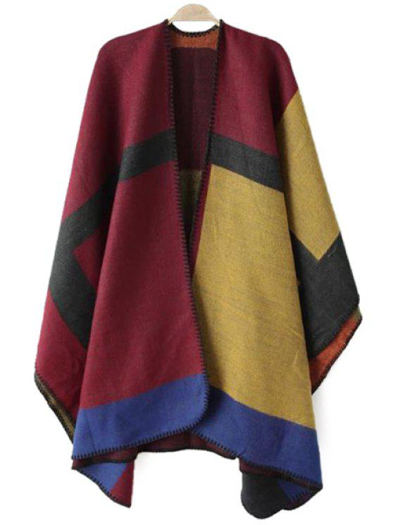 unique Color Block Pashmina - AS THE PICTURE