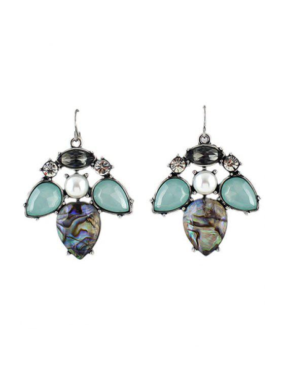 sale Pair of Gemstone Special Shape Earrings - AS THE PICTURE