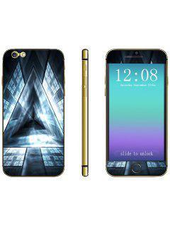 Téléphone Autocollant à La Mode Anti-rayures Peau De Décalque Avec Motif De Prisme Triangulaire Pour IPhone 6 Plus - 5,5 Pouces