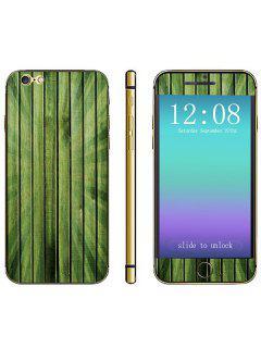 Modèle En Bois De Grain En Bois De Peau De Décalque D'autocollant De Téléphone à La Mode Pour L'iPhone 6 - 4.7 Pouces