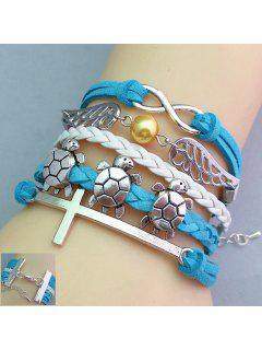 Tortoise Wing Shape Multilayered Friendship Bracelet
