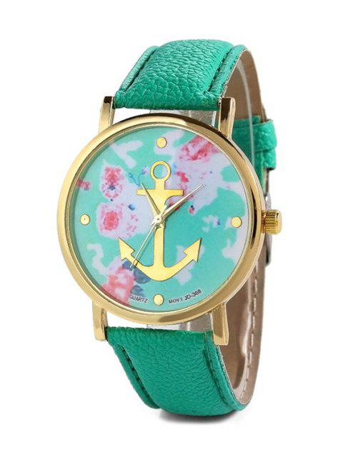 shop Anchor Design Printed Watch -   Mobile