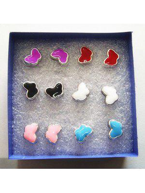A Suit of Chic Butterfly Shape Earrings For Women