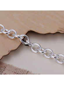 Stylish Thick Chain Shape Bracelet For Men - 20cm