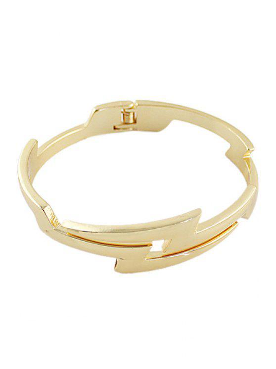 latest Simple Golden Bracelet - GOLDEN
