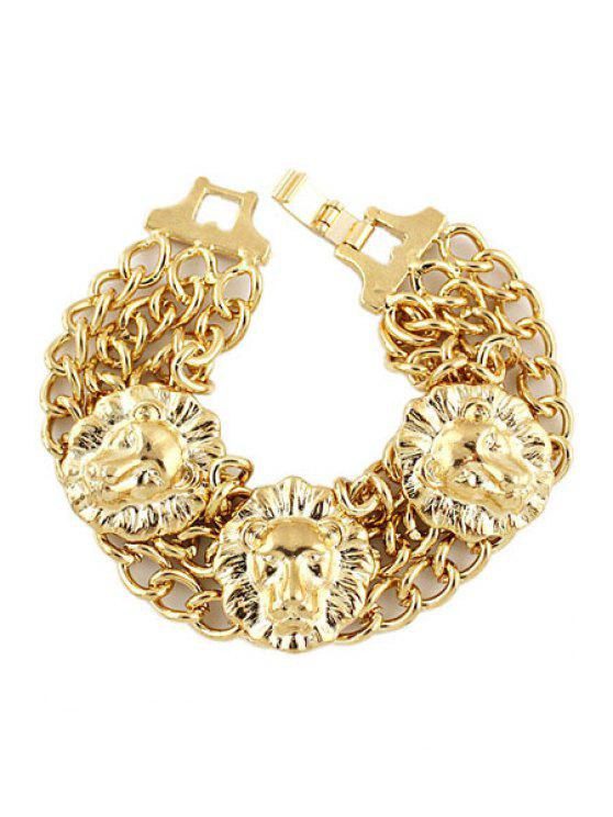 fashion Golden Layered Bracelet - GOLDEN