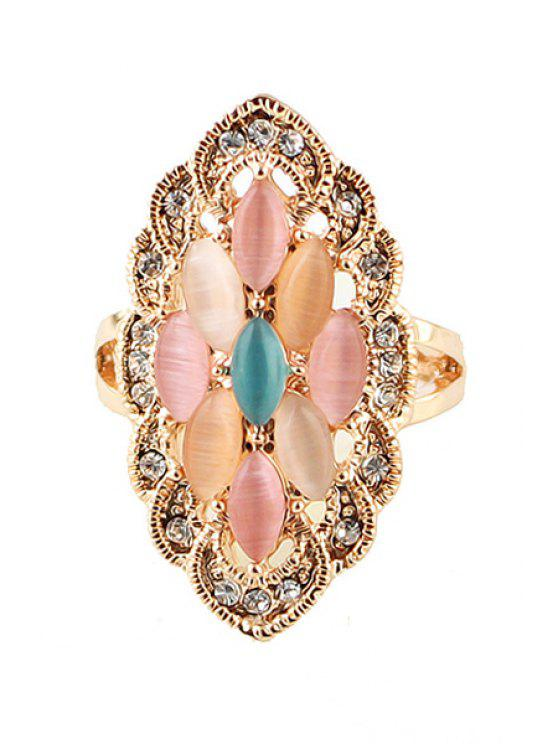 buy Faux Gem Special Shape Ring - COLORMIX ONE-SIZE