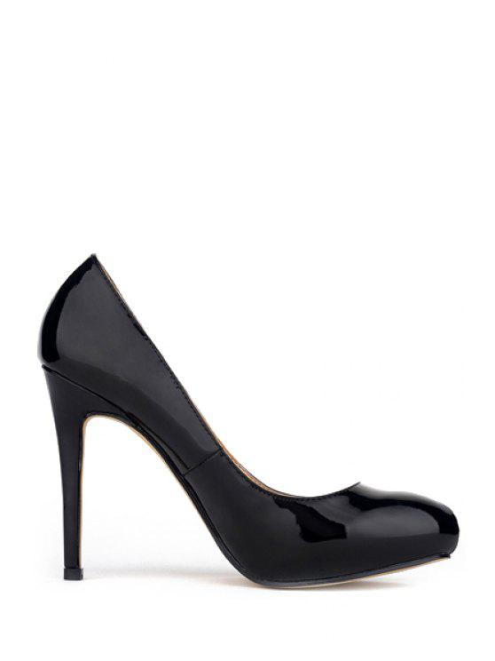 ef5fd5f7dd8 36% OFF  2019 Sexy High Heel Round Toe Pumps In BLACK