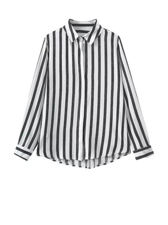 buy Long Sleeve Striped Shirt - STRIPE S
