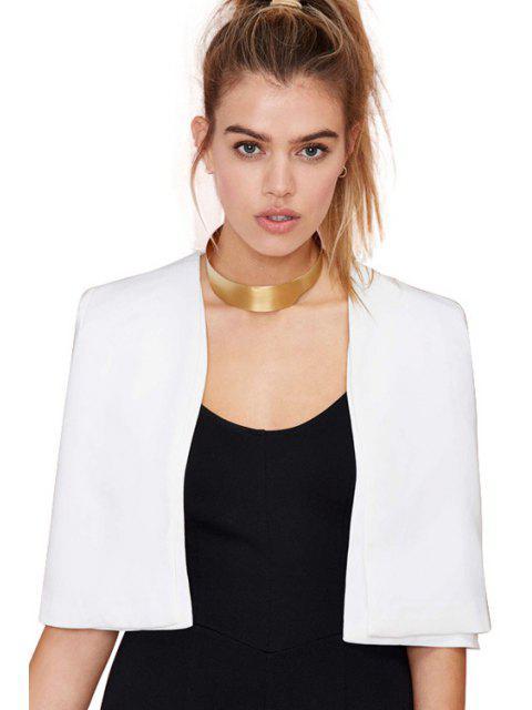 Manteau de cap semelle blanche - Blanc L Mobile