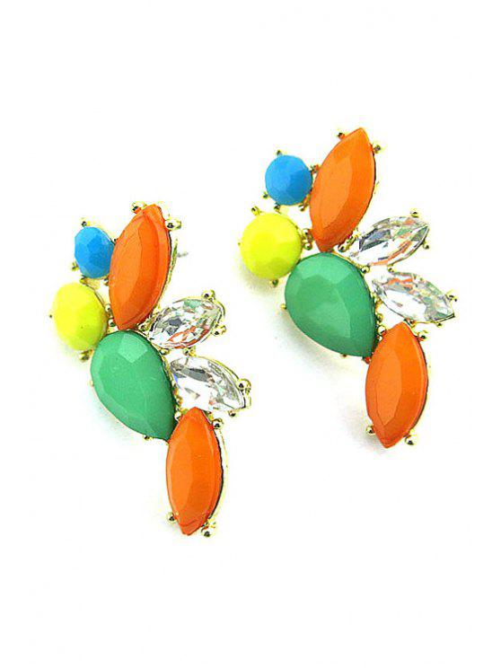 unique Sweet Candy Color Beads Earrings - COLORMIX