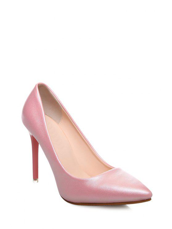 41% OFF  2019 Stiletto Heel Pointed Toe Pumps In PINK