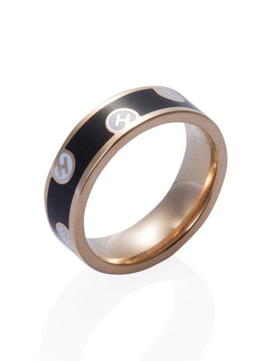 ladies Round Shape Chic Ring - COLORMIX 18