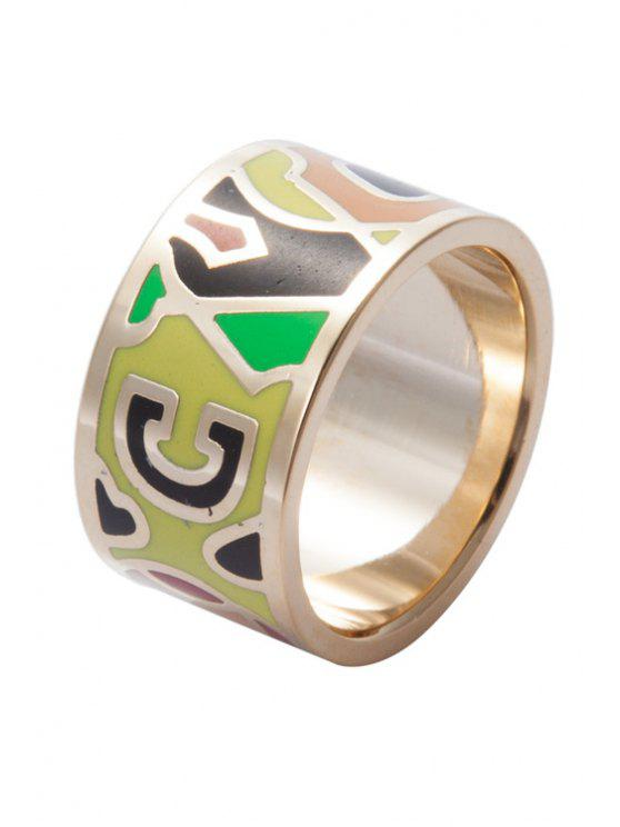 new Round Colored Print Ring - COLORMIX 16