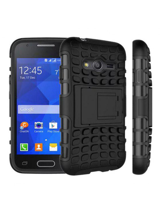 f3dc8d5c55 TPU And PC Material Support Protective Back Cover Case Of Tire Pattern  Design For Sumsung Galaxy Ace 4 - Black. Flash sale