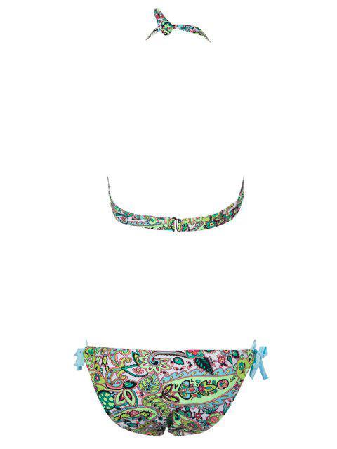 Imprimer Side-Tie Bikini - Pers L Mobile