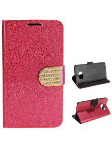 2bfbb9b90c Luxury Bling Glitter Flip PU Leather Case Cover Wallet Card Holder for  Samsung Galaxy S6 G9200 ...