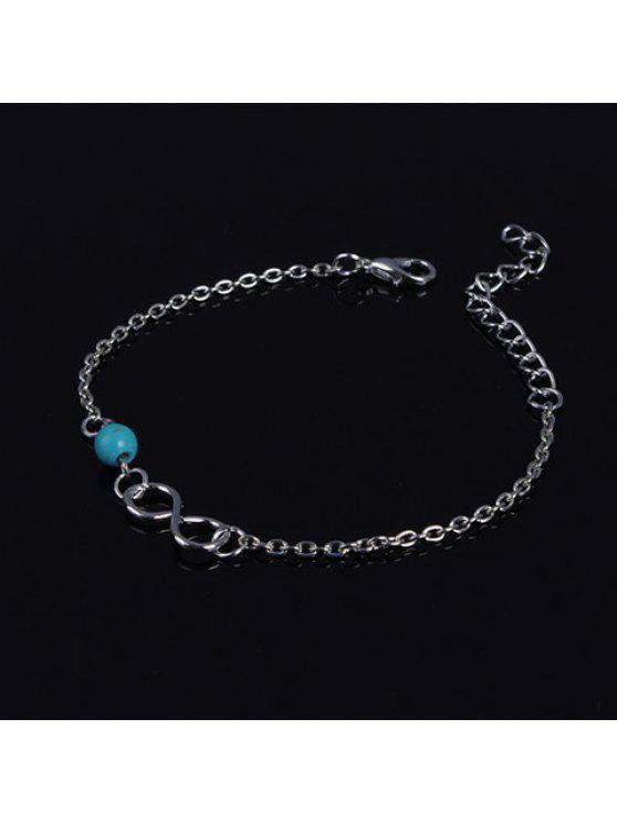 women's Adjustable Beads Infinity Bracelet - COLORMIX