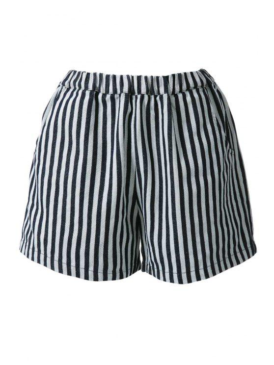 outfits Stripes Wide Leg Shorts - STRIPE ONE SIZE(FIT SIZE XS TO M)