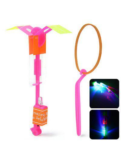 HY 558A Pfeil Hubschrauber LED Fliegen Fee Kinder Spielzeug Für Outdoor Unterhaltung - Rosa