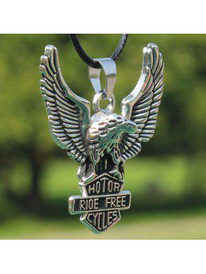 Modern Eagle Anhänger Halskette für Männer