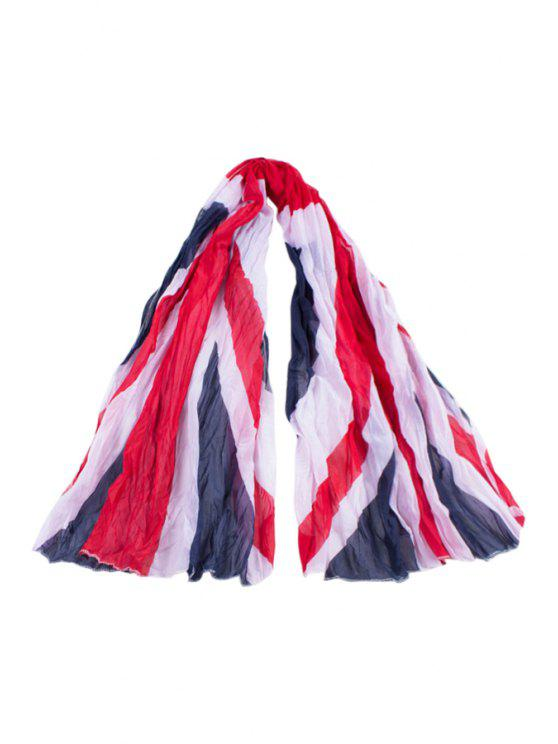 online Union Jack Print Scarf - AS THE PICTURE