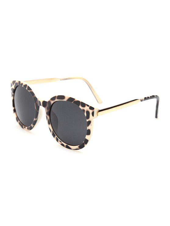 buy Alloy Splice Leopard Sunglasses - OFF-WHITE