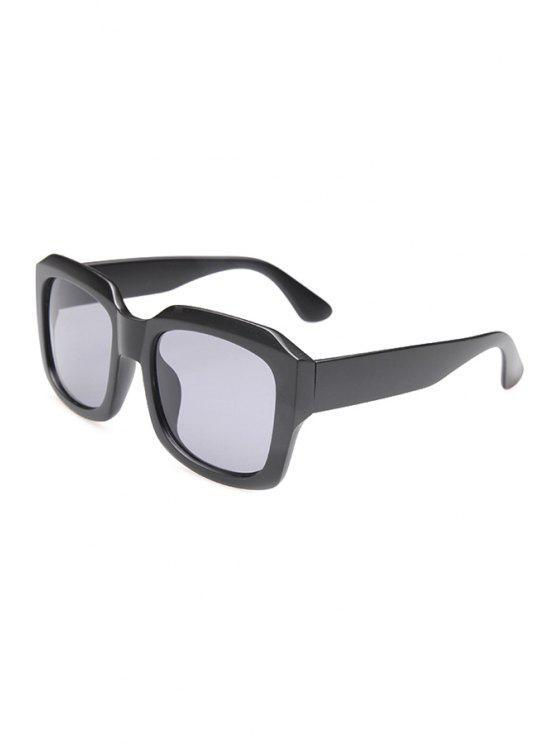 latest Matte Black Frame Sunglasses - BLACK