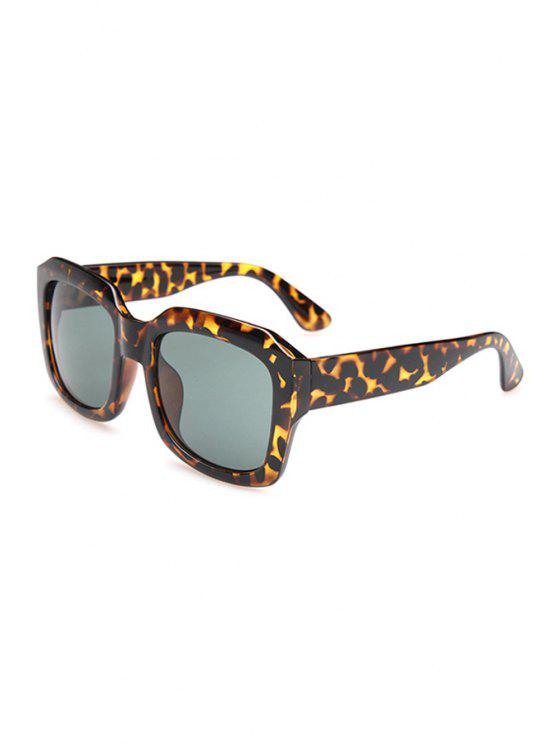 women's Leopard Full Frame Sunglasses - AS THE PICTURE