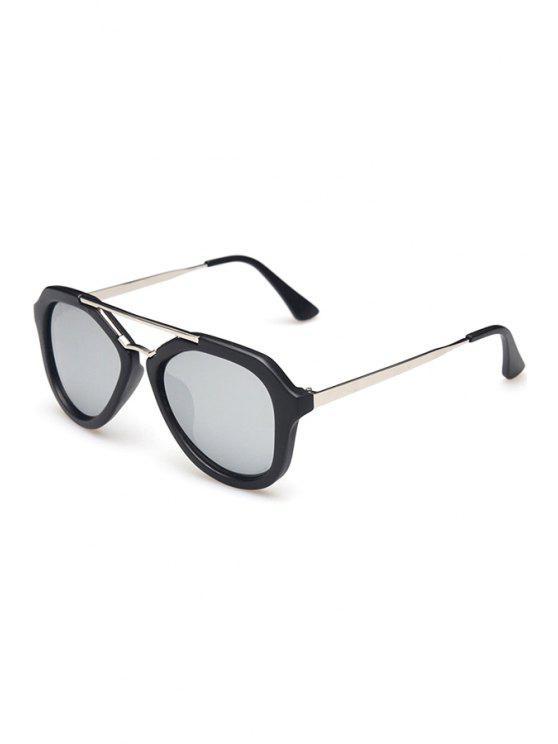 womens Alloy Photochromic Lenses Sunglasses - SILVER GRAY