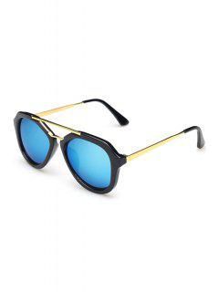 Alloy Photochromic Lenses Sunglasses - Water Blue