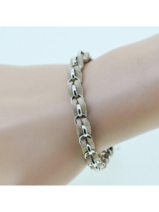 fancy Laconic Handmade Weaved Bracelet For Women - COLOR ASSORTED