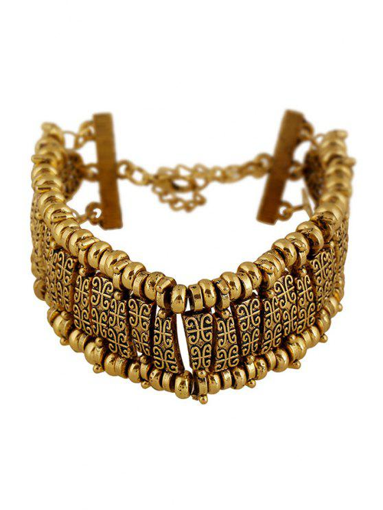sale Classic Printed Bracelet - GOLDEN