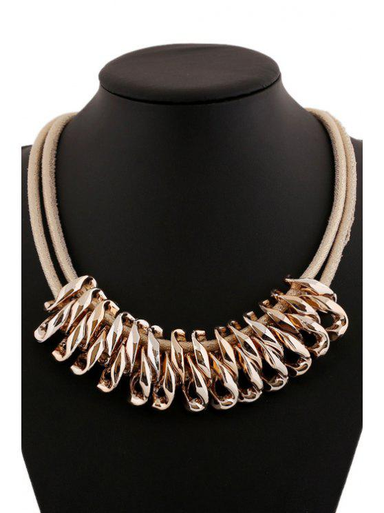 chic Gold Color Pendant Necklace - GOLDEN