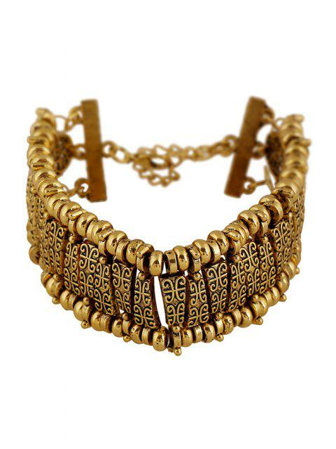 sale Classic Printed Bracelet - GOLDEN  Mobile