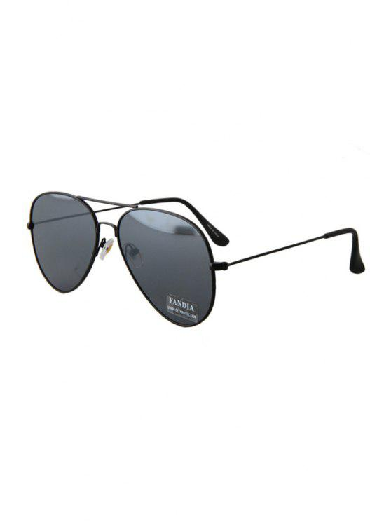 fashion Black Full Frame Sunglasses - BLACK