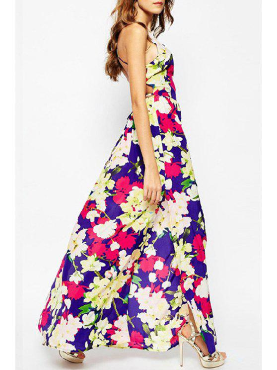 new Full Floral Print Cami Maxi Dress - COLORMIX S